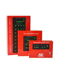 Brandalarm-brandalarm-besturingskast, gericht op brandprojecten