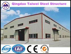 Taller de bastidor de acero estructural prefabricado de fotograma (TW757J)