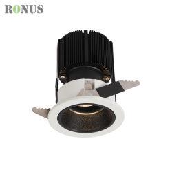 Birnen-Lampe beleuchtendes Innendownlight DES LED-PFEILER Scheinwerfer-Handelspreis-Luxuxdecken-Punkt-Licht-3-25W