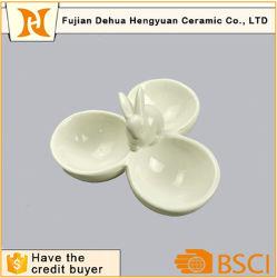 Белый Соус Керамические тарелки, соус пластину