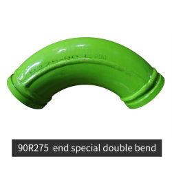 """Dn5"""" 90r275 & fin especial doble doble de la bomba de concreto Camión Codo de piezas de repuesto de construcción"""