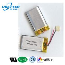 502030 OEM 3,7 V 240mAh batterie polymère de lithium pour le téléphone Watch