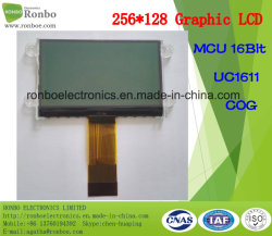 256X128 Cog Graphic LCD Module, UC1611, 34pin, Medical를 위한 Cog LCD Panel