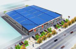 Estructura de acero de la luz de supermercado Tienda prefabricados