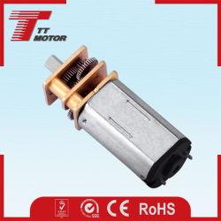 6V engrenage de vitesse électrique du moteur pour tremblement de terre instrument de test