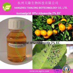 Acetamipride 10%+Abamectina 2% CE-acetamipride+abamectina (10%+2%) Bioinseticida mistura