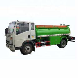 HOWO usado Mini entrega de combustível 5000 litros do tanque de diesel Veículo