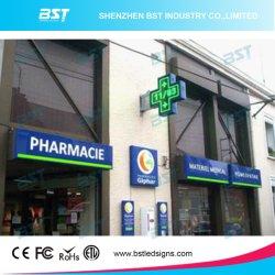 P25 сталкиваются с двойной Rb для использования вне помещений LED аптека креста для аптека