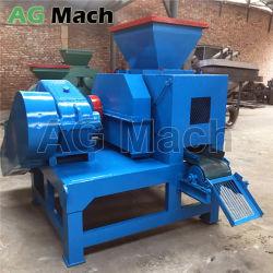 マンガン鋼鉄ローラーの高圧粘土の石炭球の出版物機械