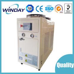 Sistema de refrigeração a água de um plástico Chiller do Chiller resfriado a ar da máquina de refrigeração do produto plástico Controlador PLC sistema chiller