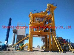 Piante d'ammucchiamento dell'asfalto di Luda Qlb1000 80t/H per la costruzione di strade del Uzbekistan