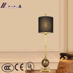 ホテルのための現代軽い古代贅沢な真鍮の床ランプ