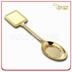 صنع وفقا لطلب الزّبون نوع ذهب يصفّى معلنة تذكار مع ملعقة هبات