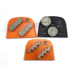 De Hulpmiddelen van de Diamant van het Segment van HTC Lavina Husqvarna voor Vloer Revonation