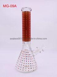 أفضل سعر وجودة عالية أنابيب المياه الزجاجية DOT تصميم بحرفة لطيفة