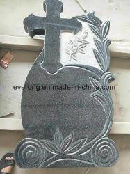 Het goedkope G654 Donkere Grijze DwarsMonument/de Grafsteen/de Grafsteen van het Graniet