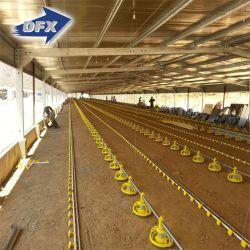 Het gegalvaniseerde Geprefabriceerde Lichte Landbouwbedrijf van het Gevogelte van de Kip van het Ontwerp van de Structuur van het Staal wierp Bouwconstructie af