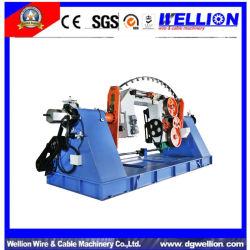 Cable de cobre de alta velocidad de doble cable trenzado de la máquina de torsión
