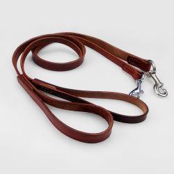 ペットは犬の牽引ロープの革ベルト大きい犬犬の皮犬の鎖犬ベルトを供給する