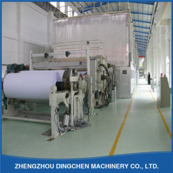 DC-2400mm Fourdrinier Wire Cultural Copy Printing Paper 메이킹 머신