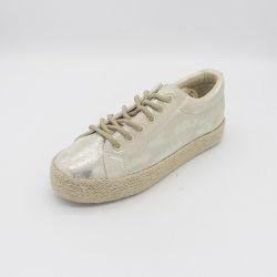 最もよい価格の最も若い方法キャンバスのジュートの靴