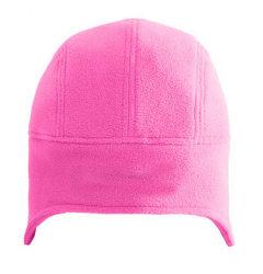 Rosa blanco Fleece Beanie Hat Cap Deportes se marchitan Hat con OEM Logotipo personalizado
