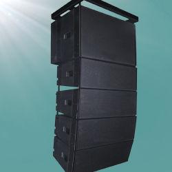 300W 16ohmsの黒い上のプロ可聴周波サウンド・システムラインアレイ