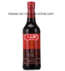 Best-seller 500ml de sauce soja foncé de champignons