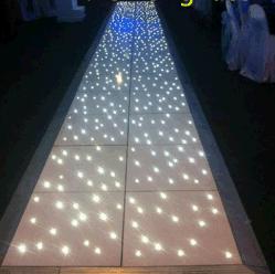 Белый светодиод звездным танцевальном зале белой светодиодной панели лампы плитки
