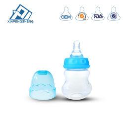 OEM de gros bon naturel PP multifonction unique nourrir bébé biberon de lait sans BPA, 2oz biberons