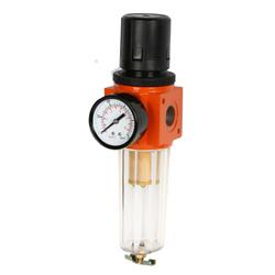 Fuente de aire neumático el tratamiento de los componentes de regulador de aire y filtro de aire
