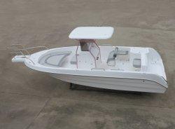 O Parque Aquático Aqualand 25pés 7,5 m fibra rígida da pesca desportiva de barco a motor (255c)