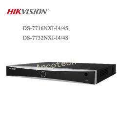 Sécurité Hikvision Acusense NVR Enregistreur vidéo réseau de surveillance CCTV (DS-7716NXI-J'4/4S / DS-7732NXI-J'4/4S)