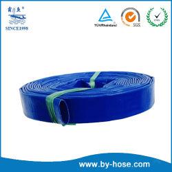 Commerce de gros Jardin de décharge de haute qualité de l'irrigation Layflat en PVC flexible à eau