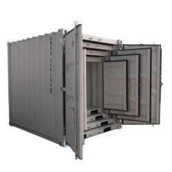 8 pies de acero de 10 pies de cubo seguro móvil de almacenamiento portátil Mini contenedor de envío