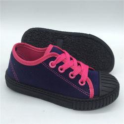 Nova escola crianças Calçados Calçados sapatos de lona Causal calçado (HH1027-10)