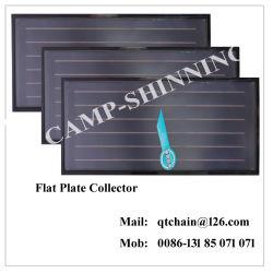 Плоская панель солнечной энергии Collector меди для теплового обмена/бассейн отопление плоская пластина солнечной сборщика