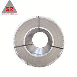 Dx51D Z140 galvanizados a quente laminados a frio de bandas de aço galvanizado médios para tejadilho