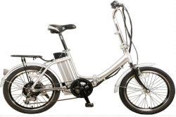2016 Venta caliente Electric Pocket bicicleta con soporte trasero