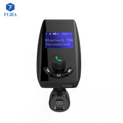 USB Port Charger Support TF Cardエムピー・スリーとのパテントProduct Wireless Bluetooth T30 Handsfree Car Kit FM Transmitter