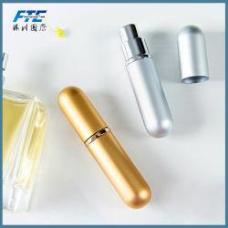 La conception personnalisée 5ml bouteille de parfum en aluminium avec tube de verre