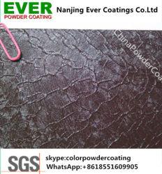 Ral9005 Efecto Cocodrilo negro mate Revestimiento en polvo de poliéster de epoxi pintura