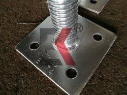 Materiais de construção Scaffold Ajustável/parafuso oco de andaimes para a estrutura da base do macaco