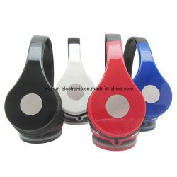 Casque supra-auriculaire léger, confortable Casque filaire stéréo pour iPhone iPad Android cellulaires ordinateur comprimés MP3/MP4