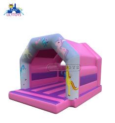 Castello di salto gonfiabile di bello tema dell'unicorno di alta qualità di Lilytoys nuovo per i capretti