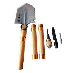 صندوق أدوات المجراف الأكس متعدد الوظائف صندوق الأدوات العسكرية القابلة للطي مجراف النجاة الخاص بالمعسكرات العسكرية مجموعة الأدوات