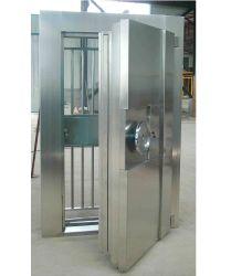 UL 608 Caja de seguridad contra incendios del listado de tamaño personalizado de las puertas de acero inoxidable de la seguridad de la Puerta de bóveda del Banco
