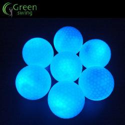 Noche de LED luminoso LED resplandor personalizada de una pelota de golf pelotas de golf