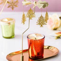 Candele su ordinazione decorative domestiche di Tealight del contenitore del vetro sintetico
