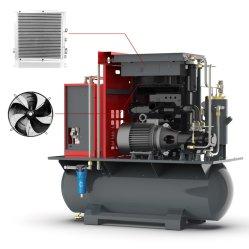 كباس برغي مكيف الهواء بدون زيت Compresor De Aire الدوار رأس موتور ضاغط مضخة الهواء عالي الضغط